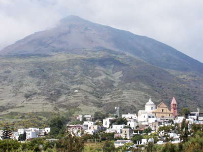 Stromboli with San Vincenzo