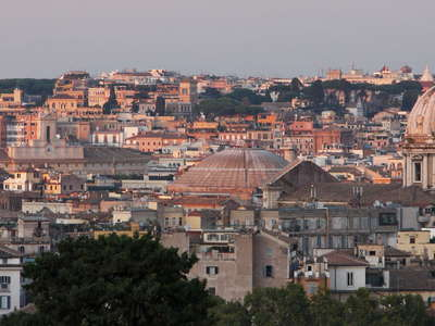 Roma | Sunset panorama