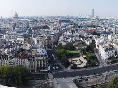 Paris | Panoramic view from Notre-Dame