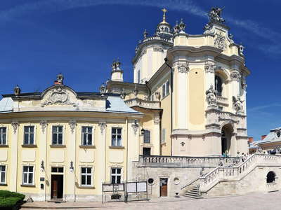 Lviv | Panorama of St. George's Cathedral