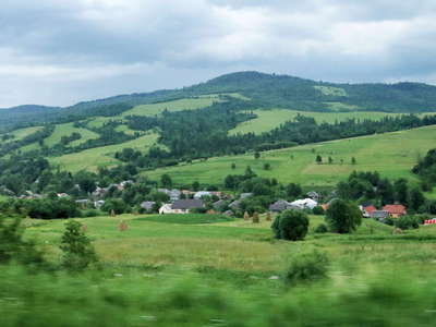 Carpathian Mountains with Latorka