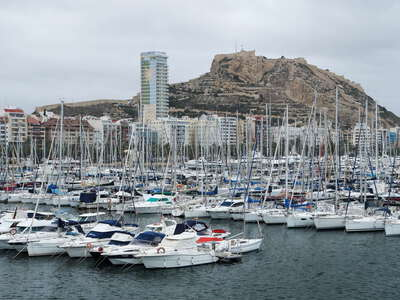 Alicante | Marina and Monte Benacantil