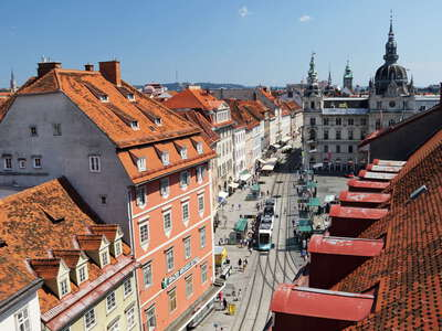 Graz | Hauptplatz with city hall